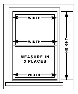 com how to measure where to mount your blind